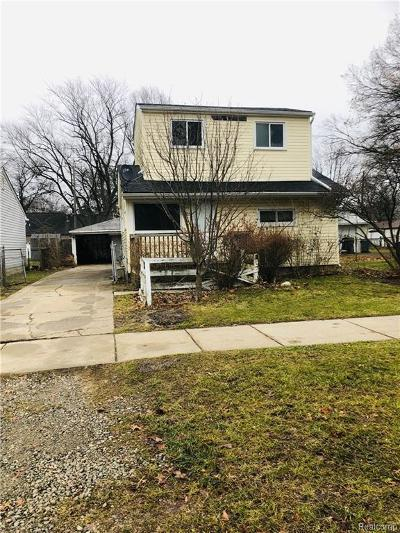Single Family Home For Sale: 5947 Wilkie St