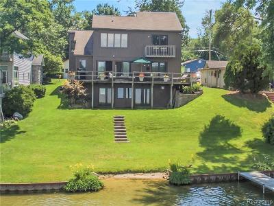 West Bloomfield Single Family Home For Sale: 7760 Detroit Blvd