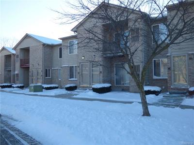 Farmington Hill Condo/Townhouse For Sale: 34780 W 8 Mile Rd