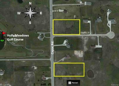 Residential Lots & Land For Sale: Capac Rd