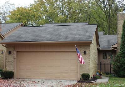 Farmington Hill Condo/Townhouse For Sale: 21970 River Ridge Trl