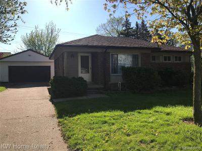 Farmington Hill Single Family Home For Sale: 23150 Tulane Ave