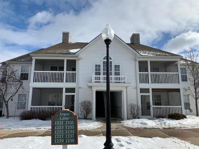 Ann Arbor Condo/Townhouse For Sale: 1231 Joyce Ln
