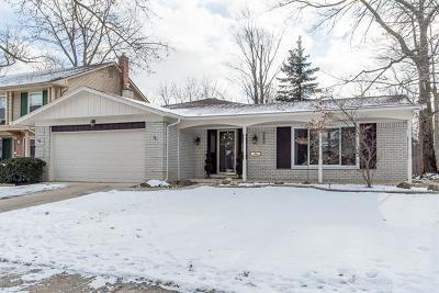 Ann Arbor Single Family Home For Sale: 3355 Tacoma Cir