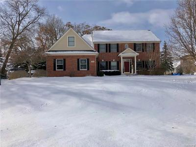 Milford Single Family Home For Sale: 4712 Windberry Ln