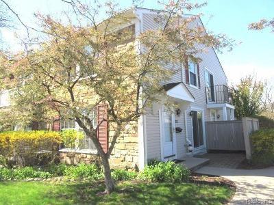 Ann Arbor Condo/Townhouse For Sale: 2994 Whittier Court