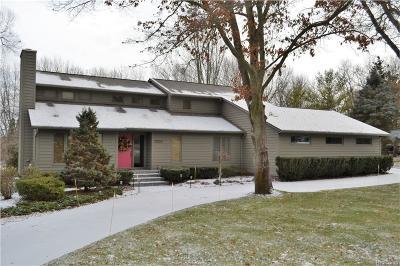 Brighton Single Family Home For Sale: 3357 Moraine Dr