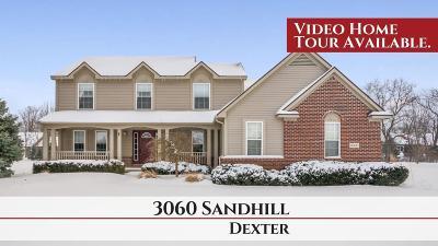 Dexter Single Family Home Contingent - Financing: 3060 Sandhill Dr