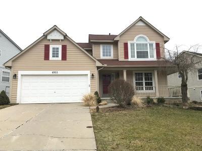 Ann Arbor Single Family Home For Sale: 4953 Ridgeside