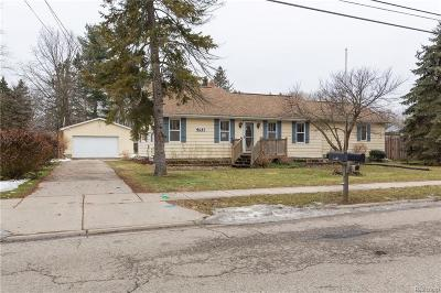 Single Family Home For Sale: 4631 Tolland Ave
