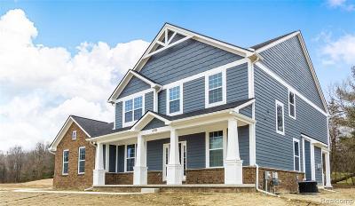 Ann Arbor Single Family Home For Sale: 4999 Gleaner Hall Rd