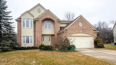 Ann Arbor Single Family Home For Sale: 2280 Moss Rose Ct