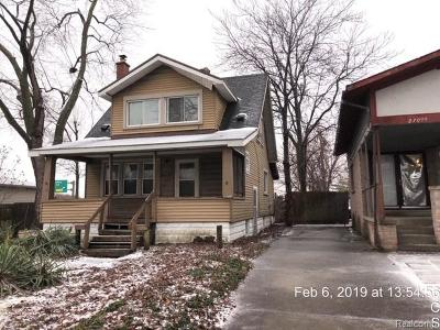 Single Family Home For Sale: 27051 James St