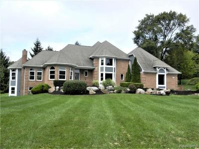 Milford Single Family Home For Sale: 1001 Deep Valley Dr