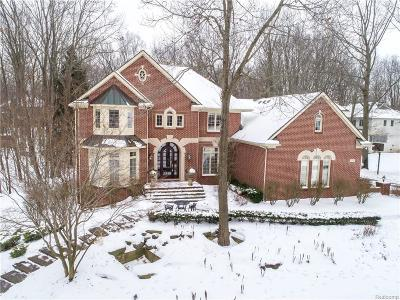 Milford Single Family Home For Sale: 1722 S Hidden Valley Dr E