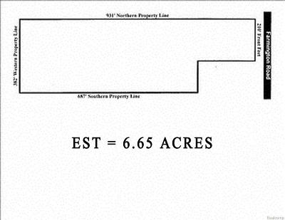 Farmington Hill Residential Lots & Land For Sale: Farmington