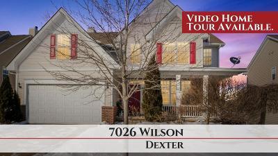 Dexter Single Family Home For Sale: 7026 Wilson Dr