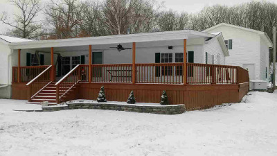 Hillsdale Single Family Home For Sale: 3159 Lake Dr