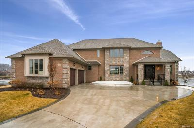 South Lyon Single Family Home For Sale: 8395 Pier Point Crt