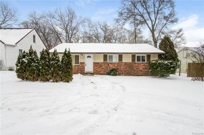 Single Family Home For Sale: 271 S Williams Lake Rd