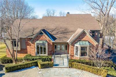 West Bloomfield Single Family Home For Sale: 2076 Shore Hill Crt