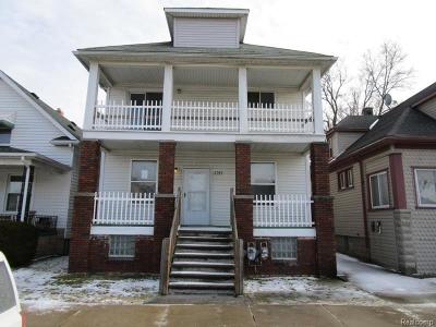 Multi Family Home For Sale: 4369 6th St