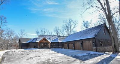 Milford Single Family Home For Sale: 12654 Golden Oaks Dr