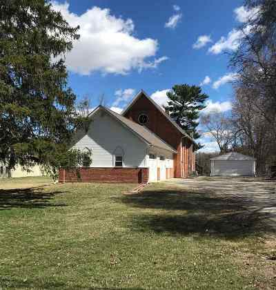 Lenawee County Single Family Home For Sale: 4297 N Adrian Highway