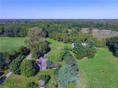 Belleville Single Family Home For Sale: 44680 Bemis Rd