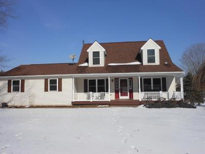 Grass Lake Single Family Home For Sale: 3505 Kalmbach Rd