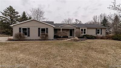 Ann Arbor Single Family Home For Sale: 5989 E Silo Ridge Dr