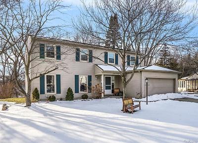 Novi Single Family Home For Sale: 24500 Park Ridge Crt