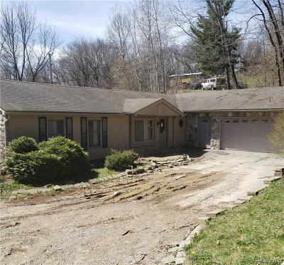 Single Family Home For Sale: 759 W Glass Rd