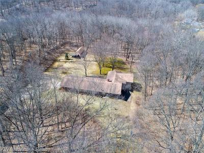 Milford Single Family Home For Sale: 2468 Brandywine Rd