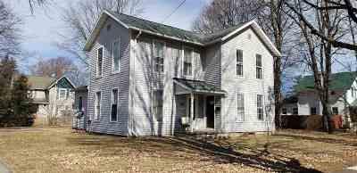 Lenawee County Multi Family Home For Sale: 301 E Logan