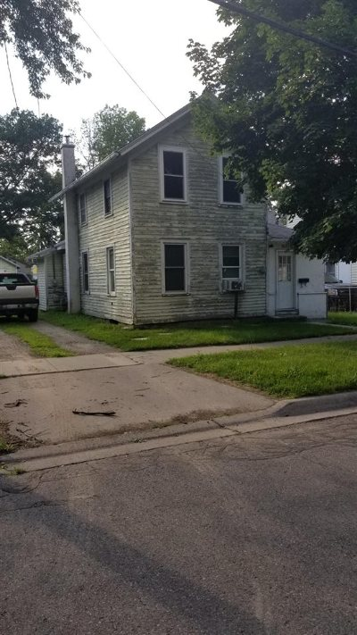 Lenawee County Single Family Home For Sale: 235 Finch