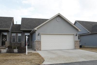 Lenawee County Condo/Townhouse For Sale: 588 Ridge Ln