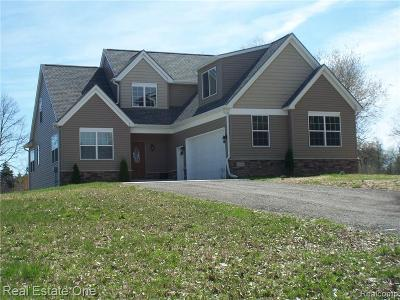Milford Single Family Home For Sale: 31300 Bailove