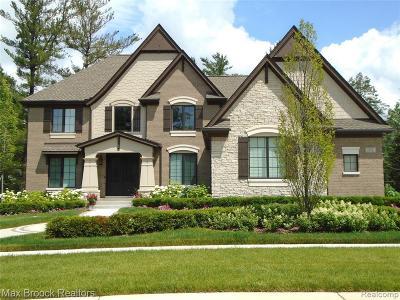 Novi Single Family Home For Sale: 22447 Montebello Crt