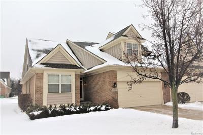 Livonia Condo/Townhouse For Sale: 32940 Brookside Cir