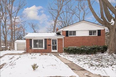 Washtenaw County Single Family Home Contingent - Financing: 706 Thomas Ct