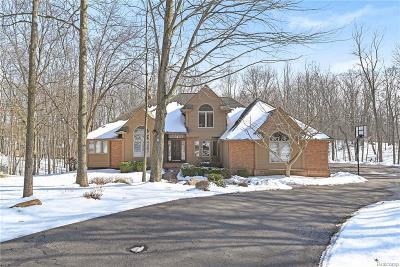 Milford Single Family Home For Sale: 1325 Oak Hollow Dr