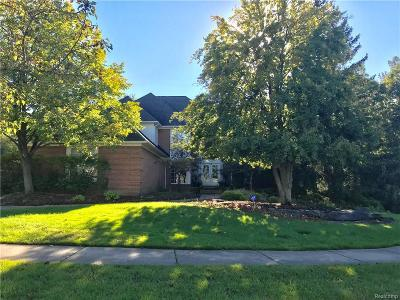 West Bloomfield Single Family Home For Sale: 6682 Torybrooke Cir