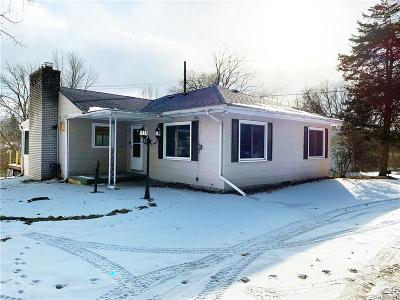 Milford Single Family Home For Sale: 346 S. Houghton Street
