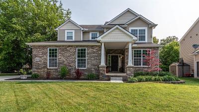 South Lyon Single Family Home For Sale: 10628 Bouldercrest Dr
