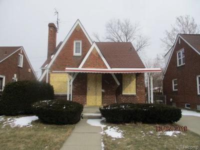 Single Family Home For Sale: 16876 Oakfield St