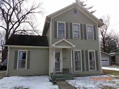 Lenawee County Single Family Home Contingent - Financing: 514 W Logan