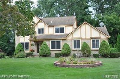 West Bloomfield Single Family Home For Sale: 6285 Marshview Ln