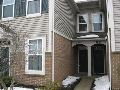 Wixom Condo/Townhouse For Sale: 3281 Theodore E