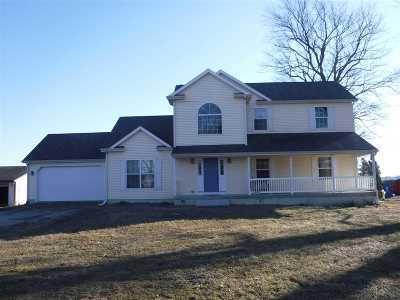 Lenawee County Single Family Home For Sale: 8611 E Us 223